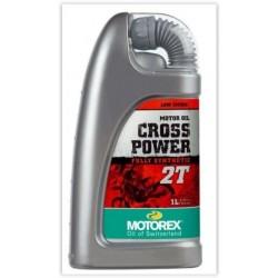 ÓLEO DE MISTURS MOTOREX CROSS POWER 2T 1 LITRO/4 LITROS