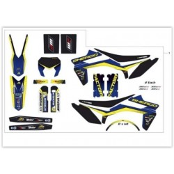 KIT AUTOCOLANTES COMPLETO SHERCO FACTORY 2014