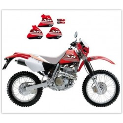 KIT AUTOCOLANTES BLACKBIRD HONDA XR 600 88-99