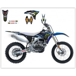 KIT AUTOCOLANTES BLACKBIRD REPLICA TEAM MONSTER ENERGY 2012 YAMAHA YZ 250 F 10-13