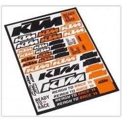 AUTOCOLANTES VARIADOS KTM 2016