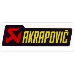 AUTOCOLANTE AKRAPOVIC 44X150 MM