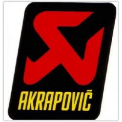 AUTOCOLANTE AKRAPOVIC 75X70 MM