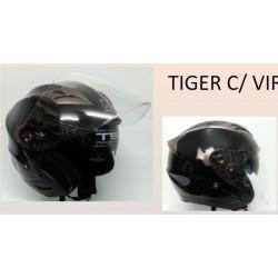 CAPACETE ABERTO K-URBAN TIGER C/VISEIRA INTERIOR PRETO