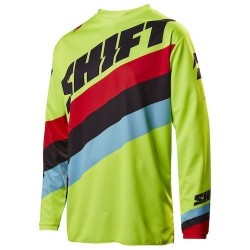 CAMISOLA SHIFT WHITE LABEL TARMAC   AMARELO FLUOR