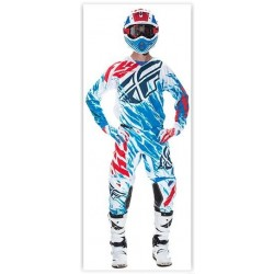 CONJUNTO FLY RACING KINETIC RELAPSE 2017