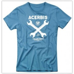 TSHIRT ACERBIS CROSSWRENCH AZUL