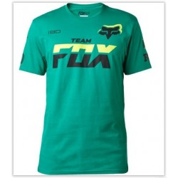 T-SHIRT FOX TEAM VERDE