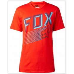 T-SHIRT FOX EFFICIENCY VERMELHA
