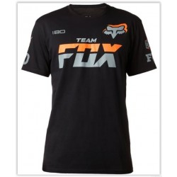 T-SHIRT FOX TEAM PRETO