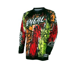 CAMISOLA ONEAL VANDAL black/neon