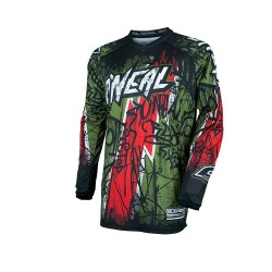 CAMISOLA ONEAL VANDAL green/red