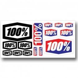 FOLHA AUTOCOLANTES 100% STICKER KIT