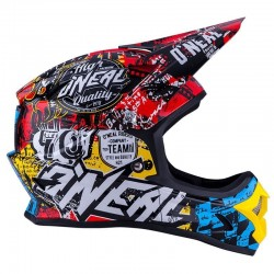 CAPACETE CROSS ONEAL 3 SERIES WILD